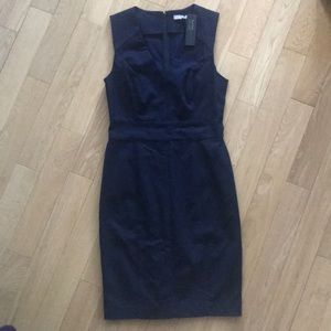 Banana Republic Sloan Dress Navy Blue 10